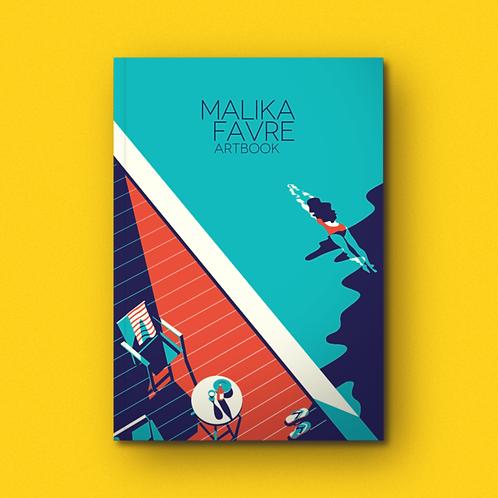Malika Favre artbook