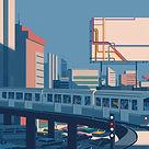 Emiliano Ponzi_New York Subway Map 1_75x