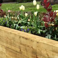 Seating planter