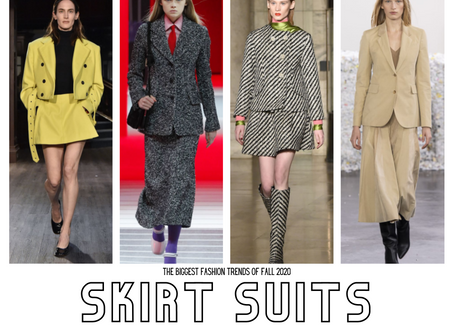FALL 2020 RUNWAY TRENDS: SKIRT SUITS