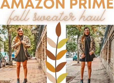 AMAZON PRIME FALL SWEATER HAUL