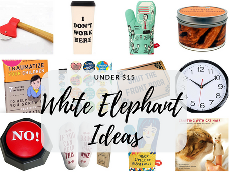 HOLIDAY GIFT GUIDE: BEST OFFICE WHITE ELEPHANT GIFT UNDER $15