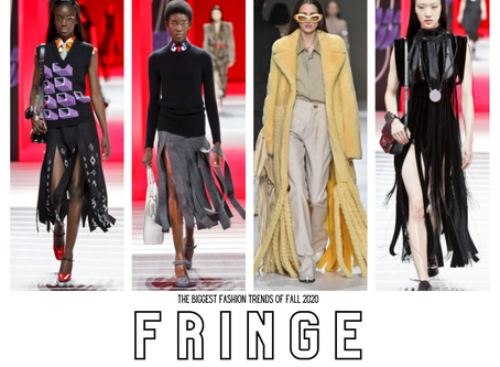 RUNWAY INSPIRATION FOR YOUR FALL WARDROBE + FOCUS ON FRINGE