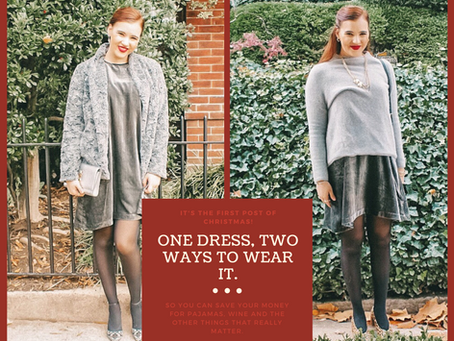ONE DRESS, TWO WAYS. IT'S TWICE AS NICE.