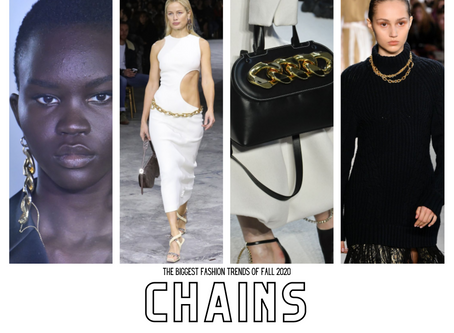 FALL 2020 RUNWAY TRENDS: CHAINS