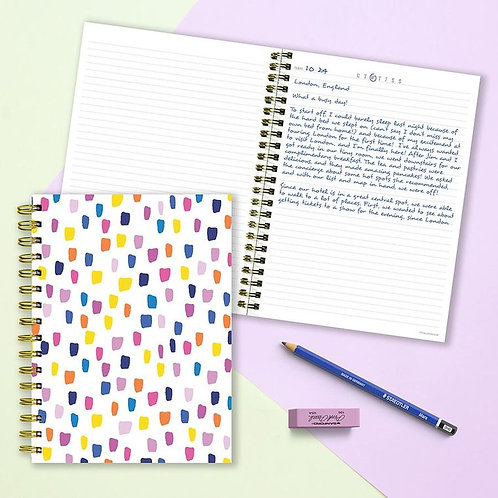 Bright Dots Lined Journal