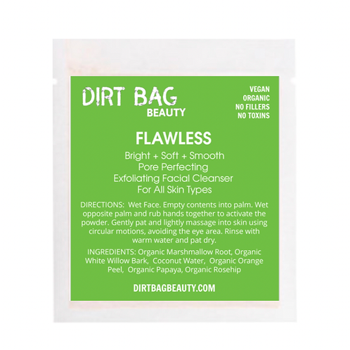 Dirt Bag Beauty Exfoliating Face Cleanser - Flawless