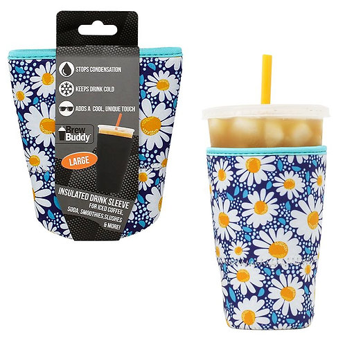 Insulated Drink Sleeve -  Daisy LARGE
