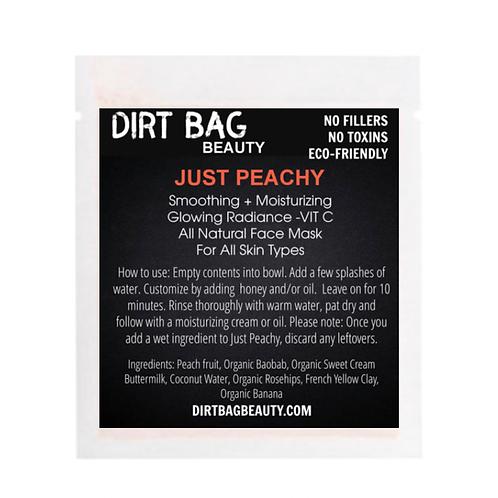 Dirt Bag Beauty Face Mask - Just Peachy