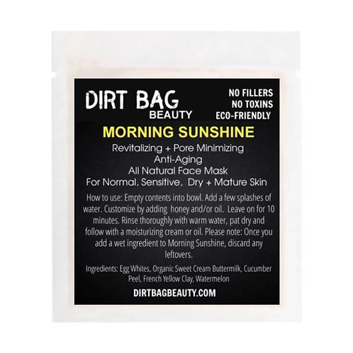 Dirt Bag Beauty Face Mask - Morning Sunshine