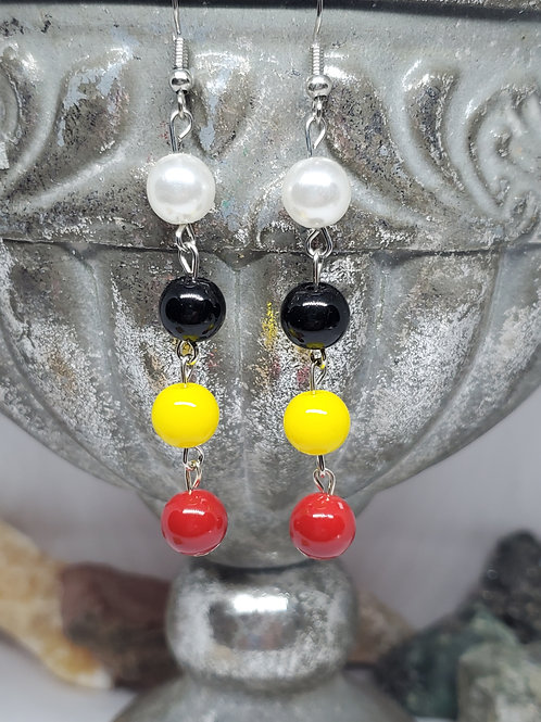 Red, Yellow, Black, & White 'We Are Precious In His Sight'