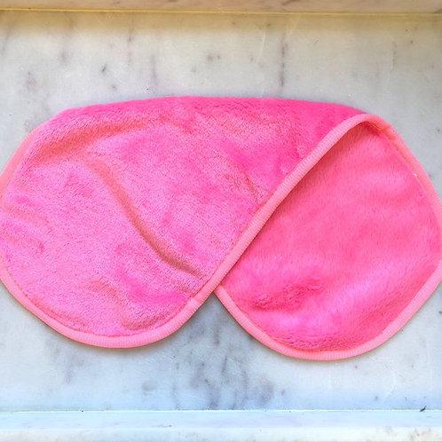 Microfiber Make-Up Remover Cloth - Fuschia