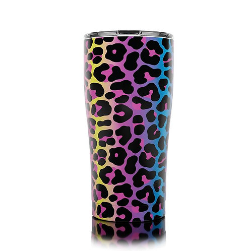 Tall Tumbler - Neon Leopard (20oz)