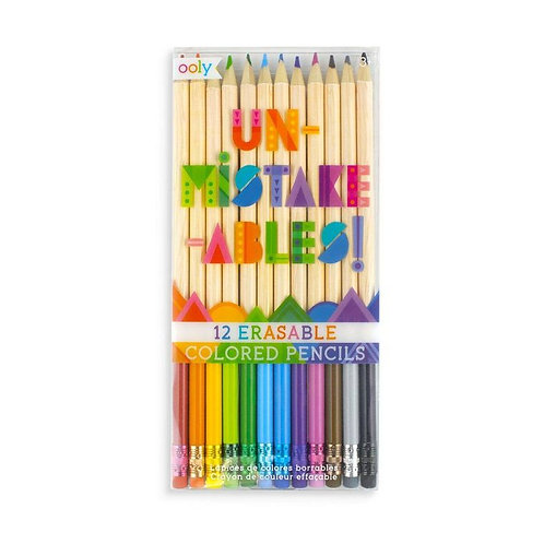 Un-Mistake-Ables Erasable Color Pencils