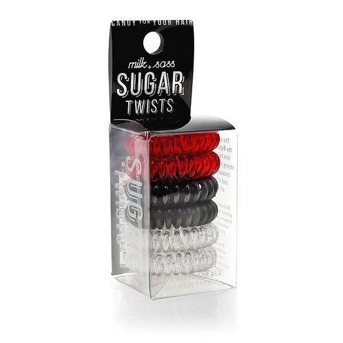 Sugar Twists Hair Ties - Red Licorice