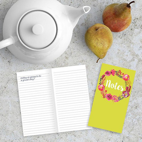 Blossom Note Jotter