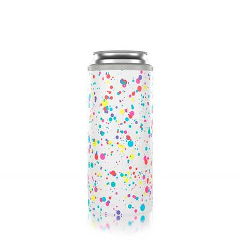 Slim Can Coozie - Splatter Paint