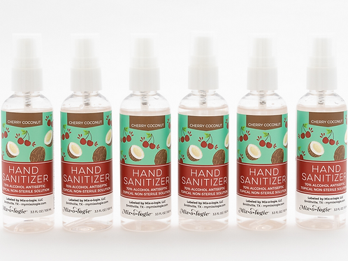 Hand Sanitizer Spray - Cherry Coconut