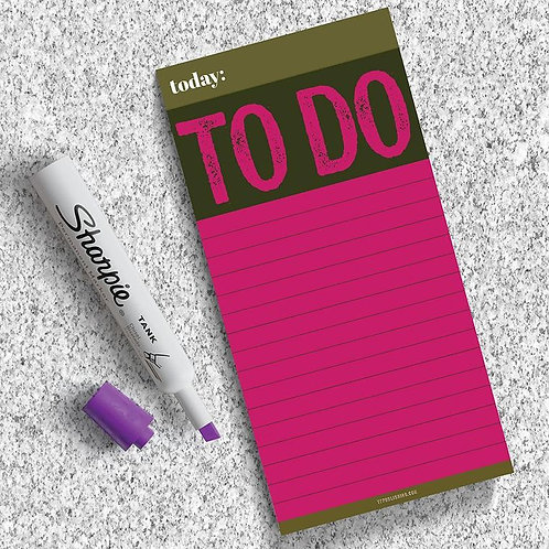 To Do Memo Magnetic Pad