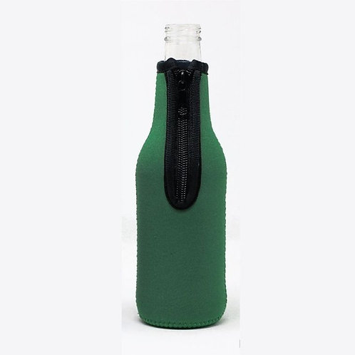 Insulated Bottle Sleeve - Solid Green