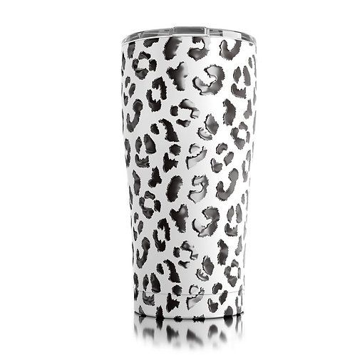 Tall Tumbler - White Leopard (20oz)