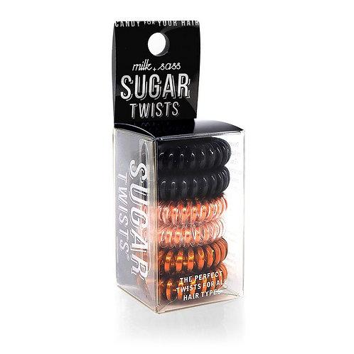 Sugar Twists Hair Ties - Rose Gold Licorice