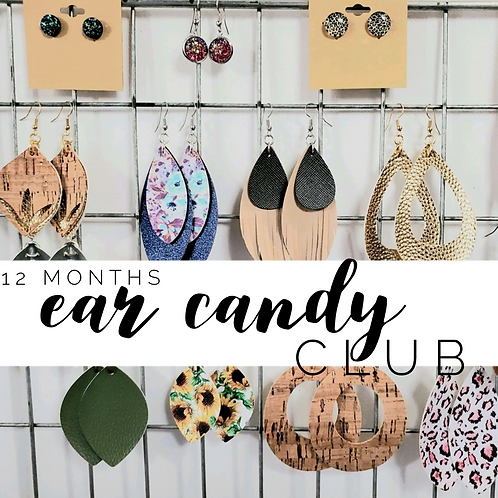 Ear Candy Club Annual Subscription - 12 month