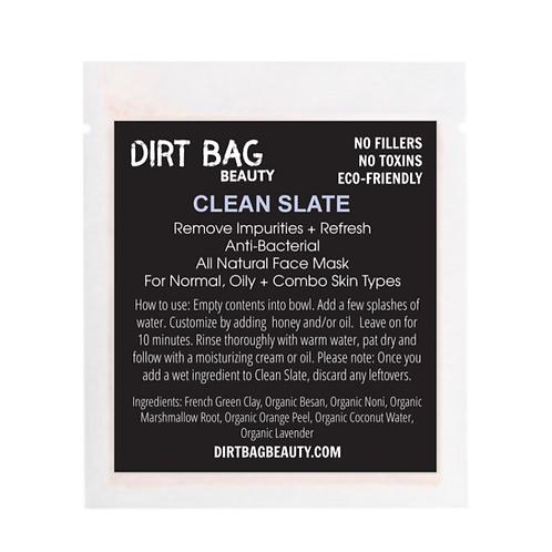 Dirt Bag Beauty Face Mask - Clean Slate