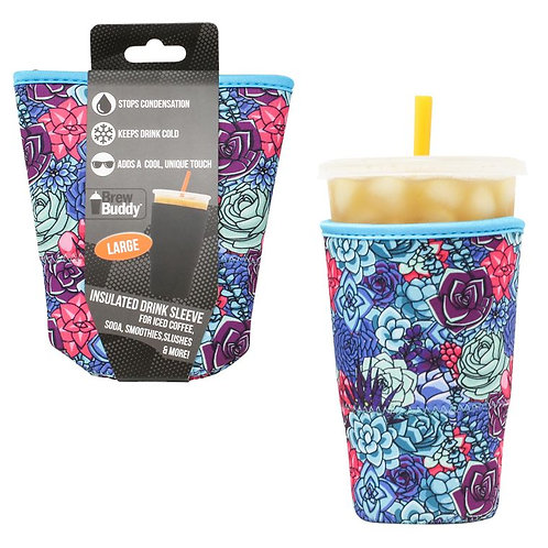 Insulated Drink Sleeve - Succulent Large