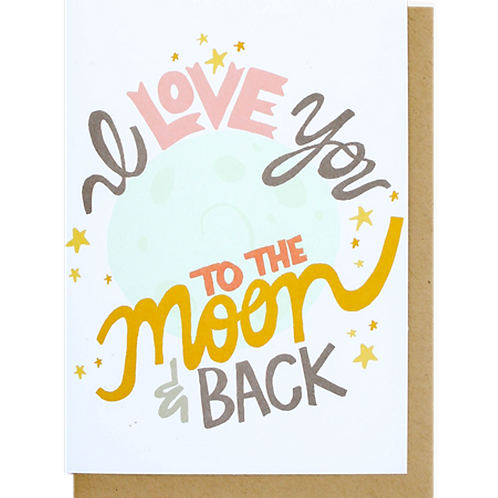 Greeting Card - I Love You