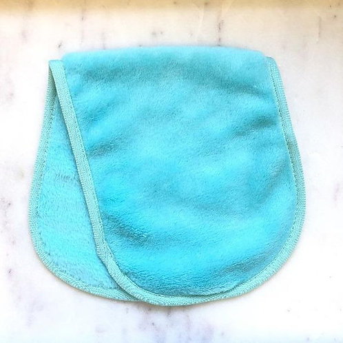 Microfiber Make-Up Remover Cloth - Teal