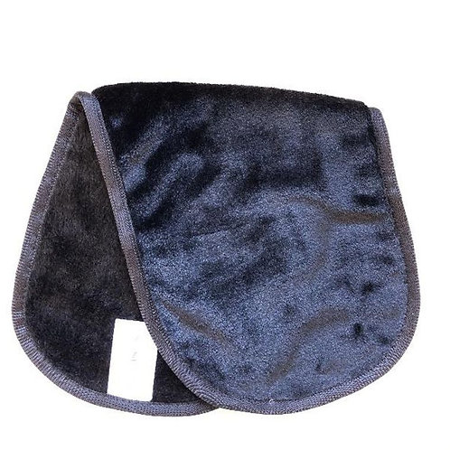 Microfiber Make-Up Remover Cloth - Black