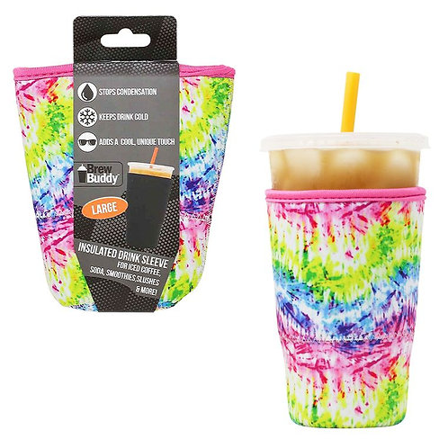 Insulated Drink Sleeve -  Tie Dye LARGE
