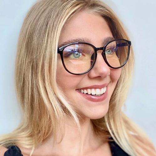 Blue Light Blocking Glasses - Black Frame