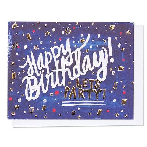 Greeting Card - Confetti Birthday
