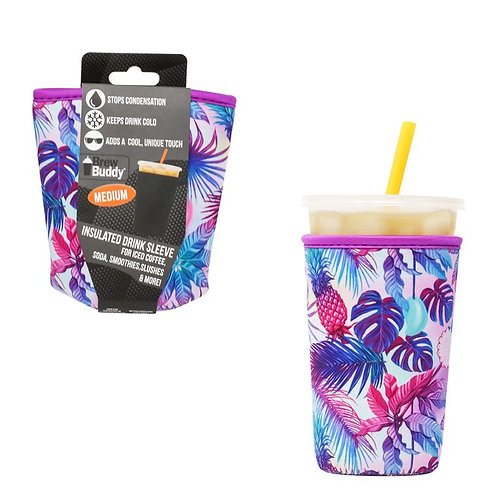 Insulated Drink Sleeve -  Pineapple MEDIUM