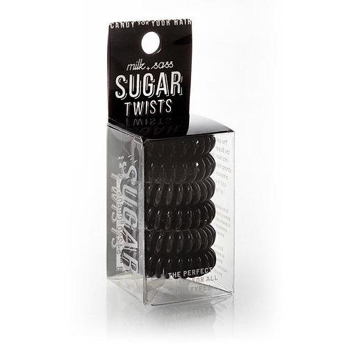 Sugar Twists Hair Ties - Black Cherry