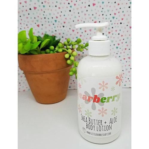 Aloe & Shea Body Lotion - Pearberry