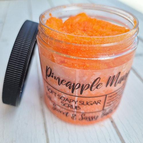 Whipped Sugar Scrub - Pineapple Mango