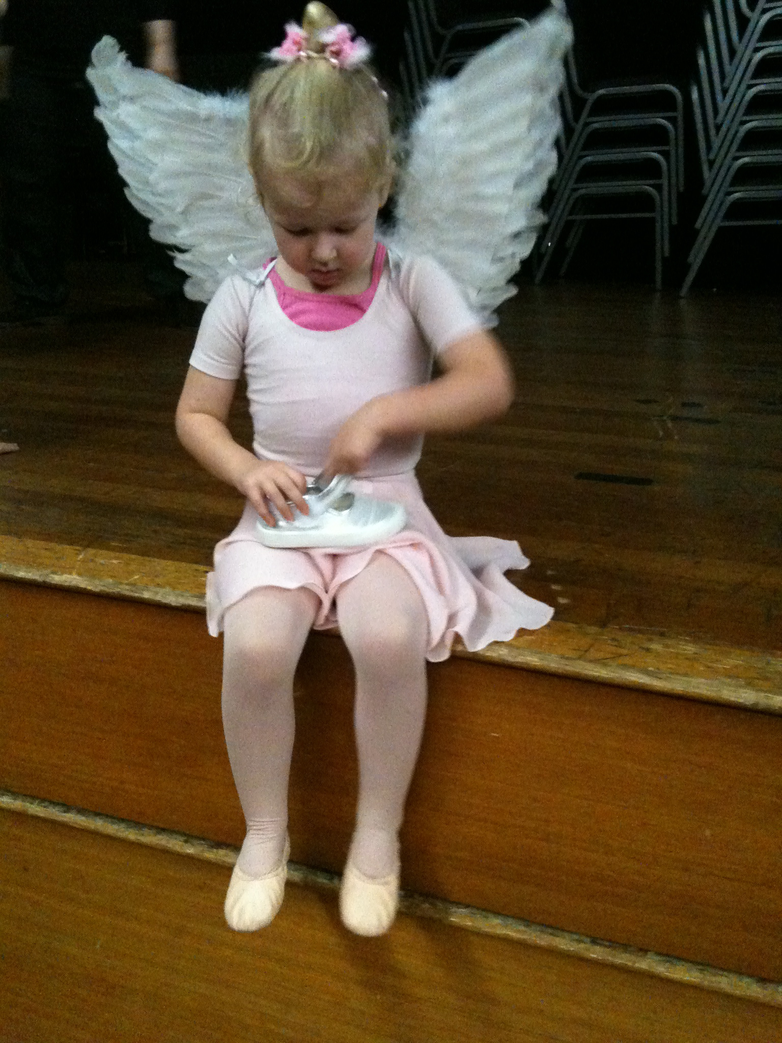 Getting ready for Ballet