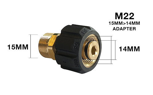 M22 15MM to 14MM Adapter