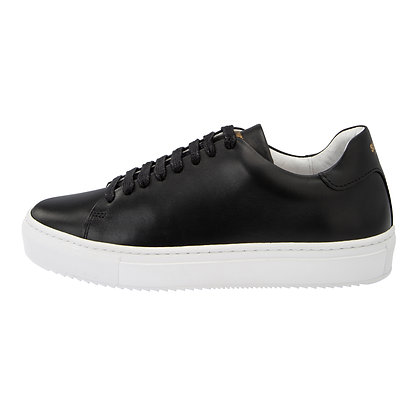 ASHTON LEATHER BLACK SNEAKER