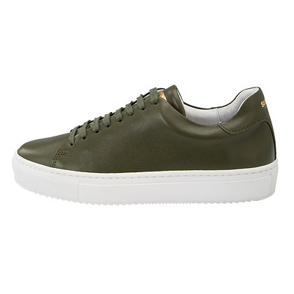 ASHTON LEATHER GREEN SNEAKER
