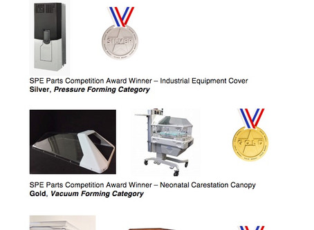 Profile Plastics, Inc. Awarded Top Spots At 2019 SPE Parts Competition