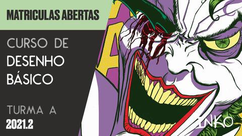 Curso de Desenho Básico com Denis Mello - Turma A (Seg 18h)