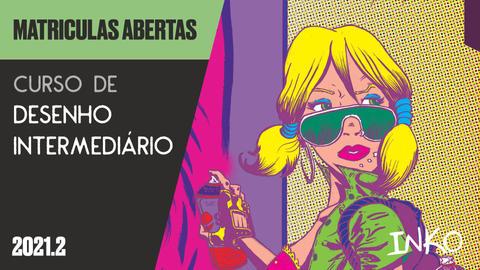 Curso de Desenho Intermediário com Denis Mello (Seg 20h)