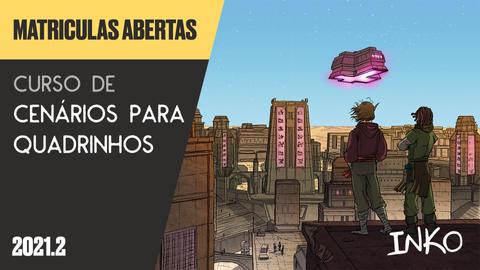 Curso de Cenários para Quadrinhos com Rapha Pinheiro (Qui 20h)