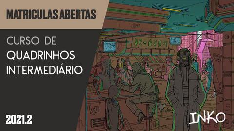 Curso de Quadrinhos Intermediário com Rapha Pinheiro (Qui 18h)