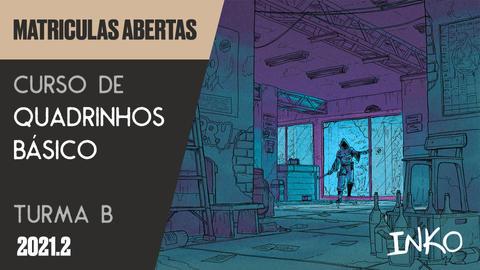 Curso de Quadrinhos Básico com Rapha Pinheiro - Turma B (Qua 20h)