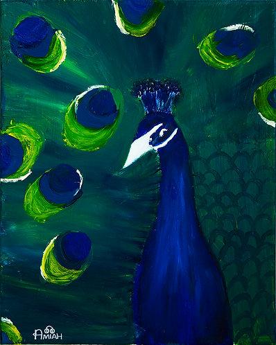 Boasting Peacock